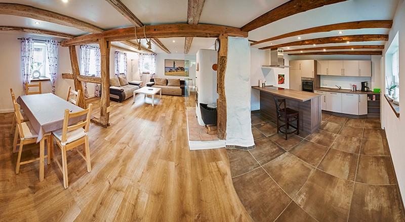 ferienhof ade benne ferienhaus ferienwohnung in. Black Bedroom Furniture Sets. Home Design Ideas